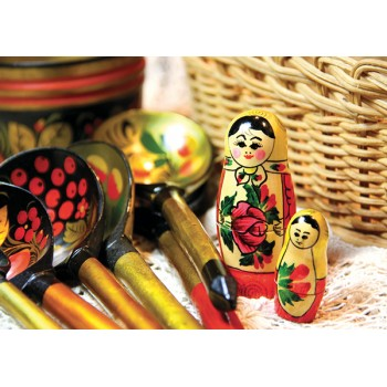 Matryoshka and spoons