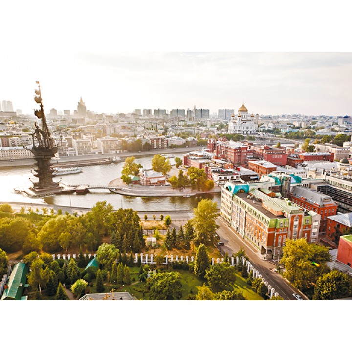 Sunny Moscow