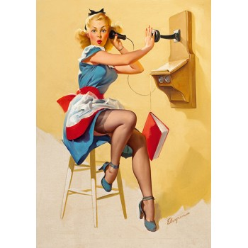 Pin Up. Phone book