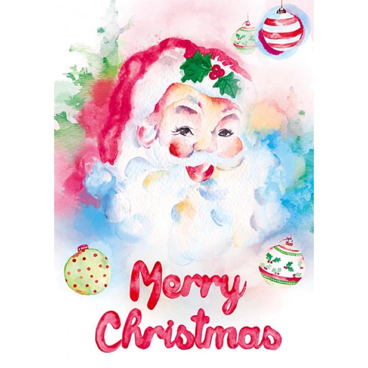 Santa Claus (watercolor)