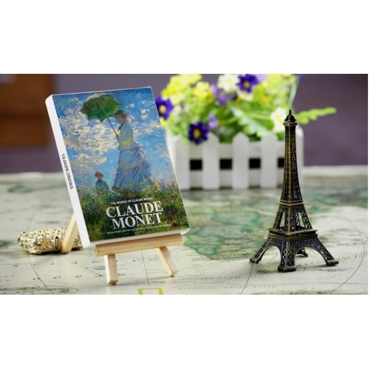 Claude Monet (30 postcards, 14.2*10.2 сm)