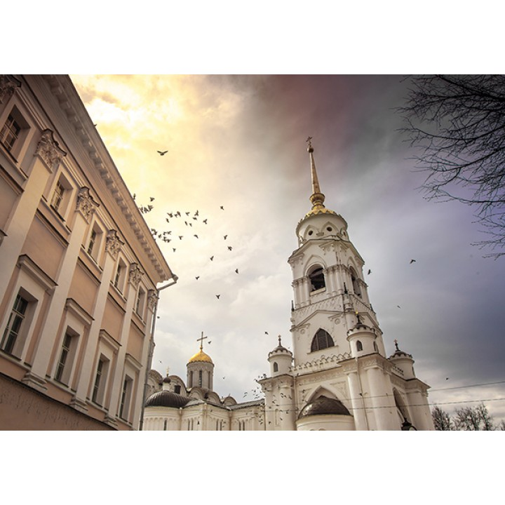 Assumption Cathedral in Vladimir, UNESCO