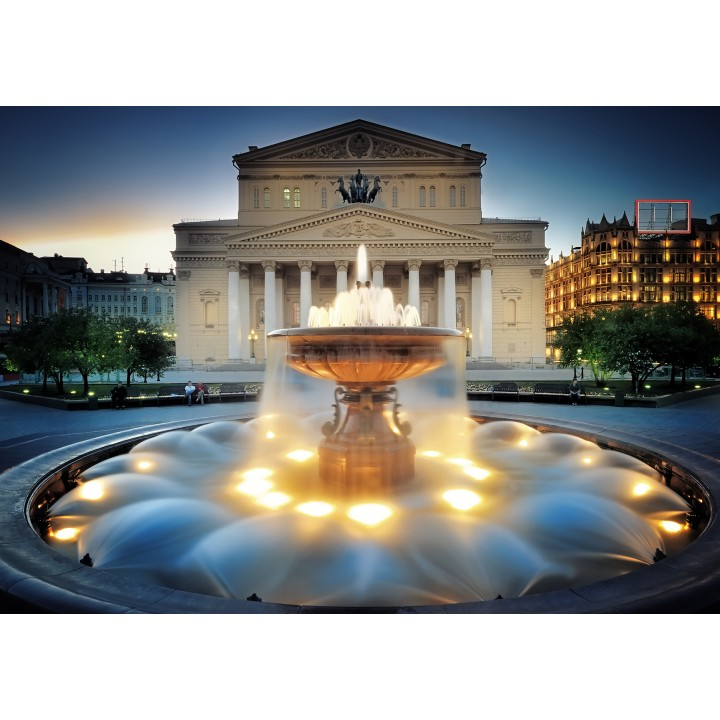 Fountain near Bolshoi Theater. UNESCO