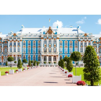 Catherine Palace, Tsarskoye Selo, St. Petersburg. UNESCO