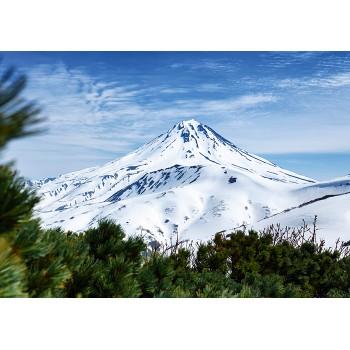 Kamchatka in the winter