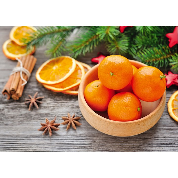 Juicy tangerines