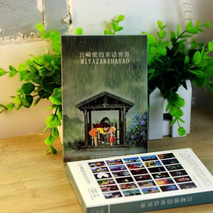 Miyazaki Hayao #2 (30 postcards, 14.2*10.2 сm)