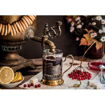 Samovar and tea