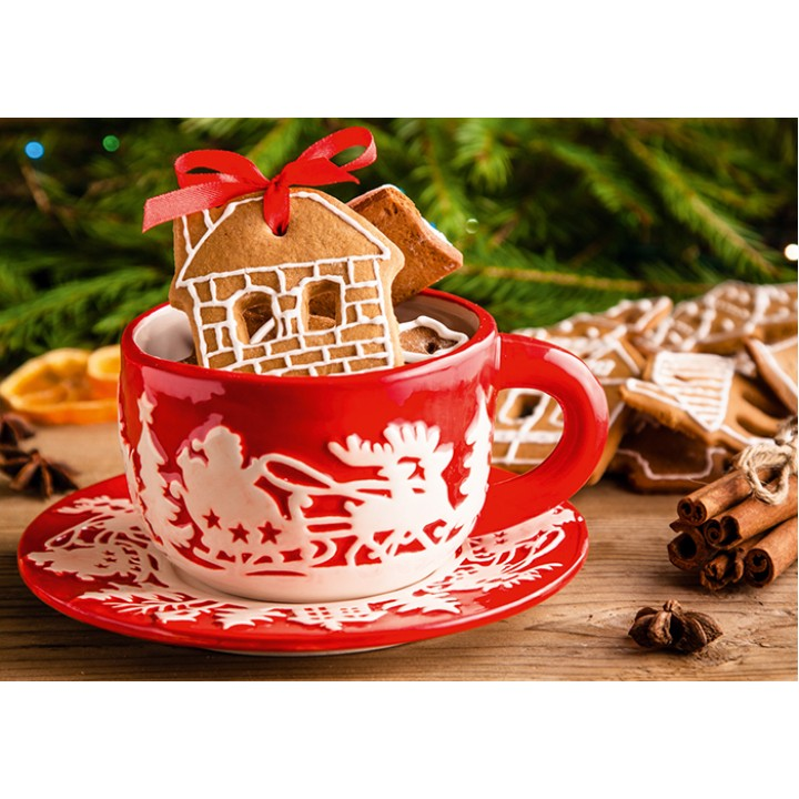 Gingerbread house (cookies)