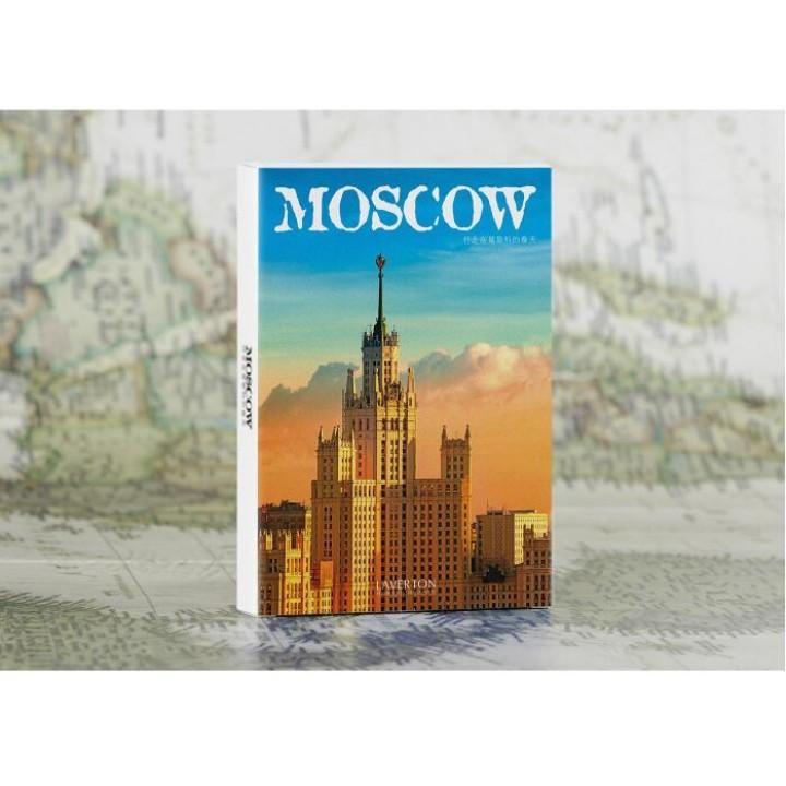 Moscow (30 postcards, 14.3*9,3 cm)