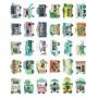 Shaped postcards - Shops (30 postcards, 14.3*9,3 cm)