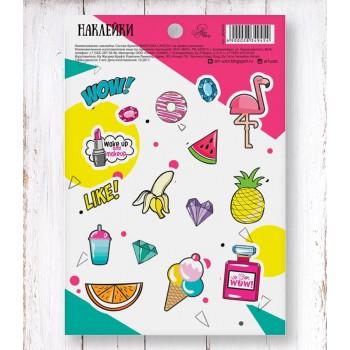 """Stickers """"WOW!"""" (11 × 16 cm)"""