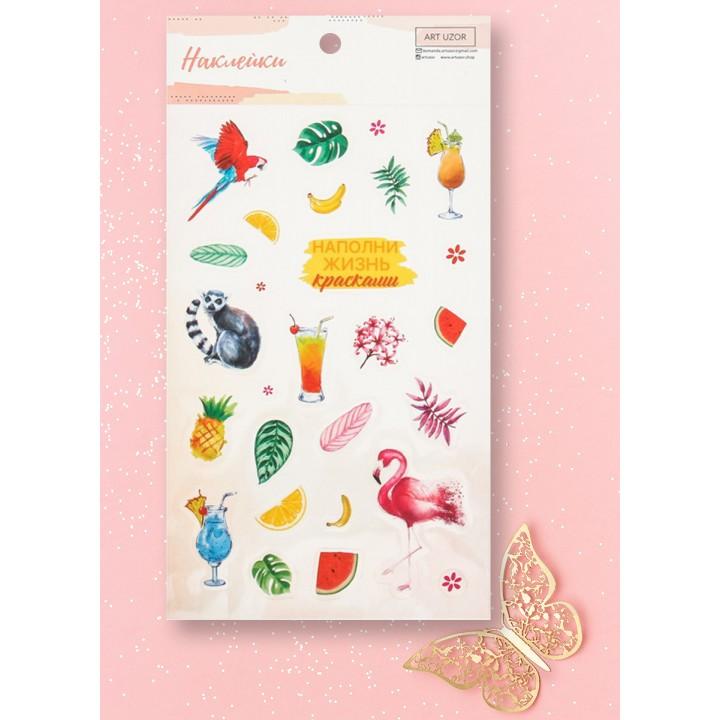 """Stickers """"Tropics"""" (10 × 16 cm)"""