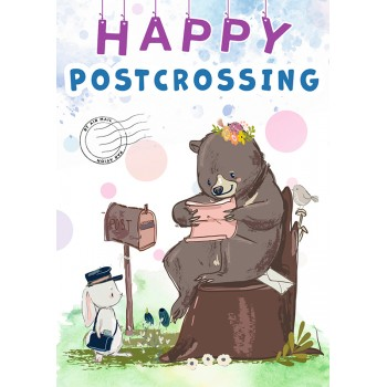 Happy Postcrossing. Bear