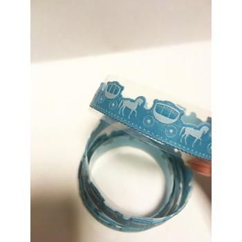 "Tape ""Nubuck"" BLUE (random style, width 1.8 сm)"