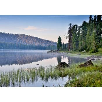 Twilight in Ergaki National Park, Russia