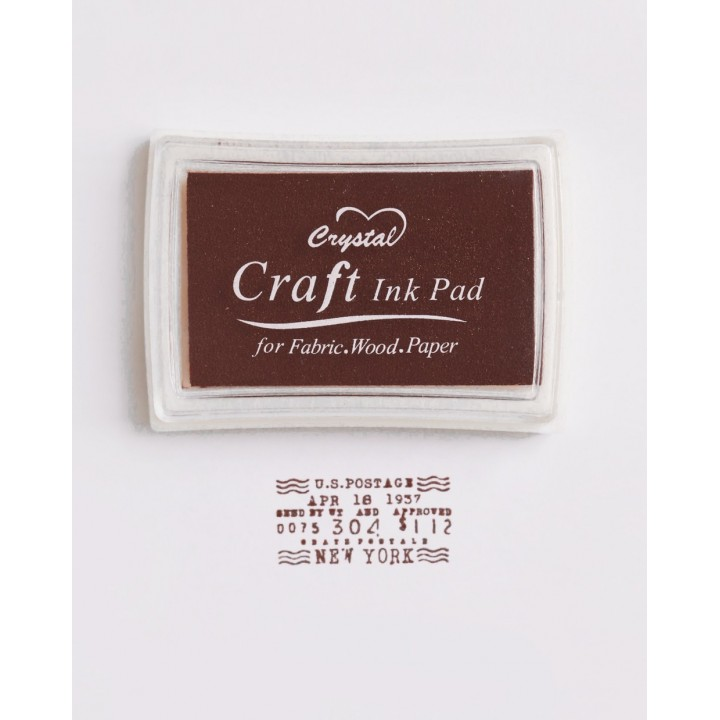 "Stamp pad ""Brown"""