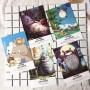 My neighbor Totoro #1 (36 postcards, 14.3*9.3 сm)