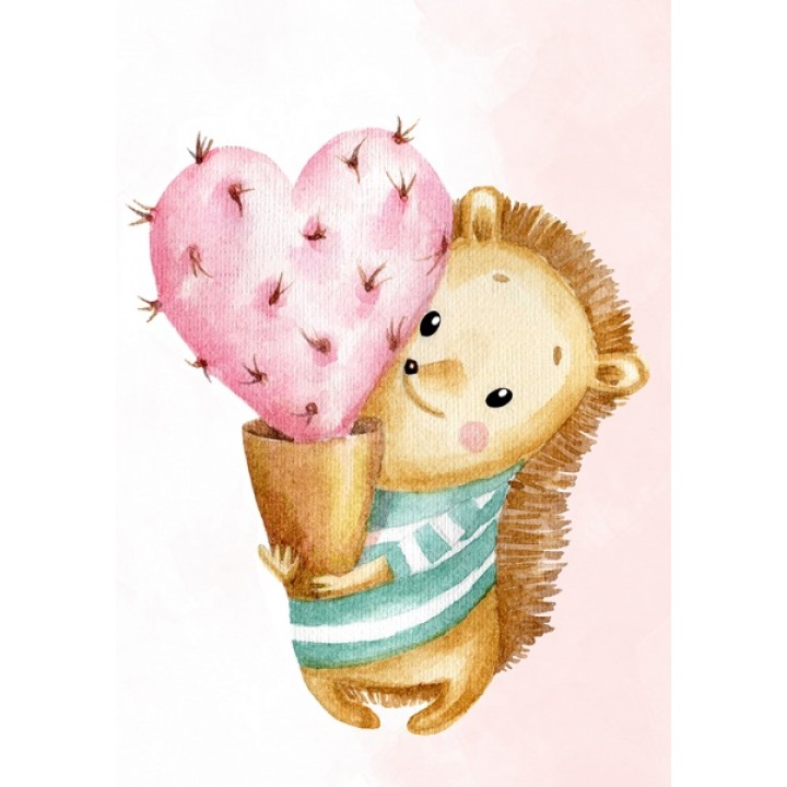 With love from a hedgehog