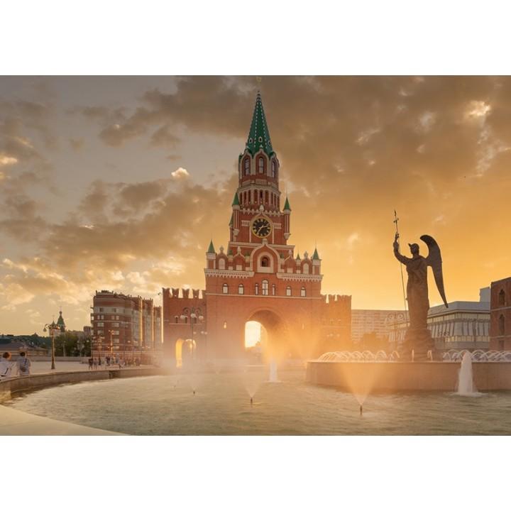 Blagoveshenskaya clock tower, Yoshkar Ola city, Russia