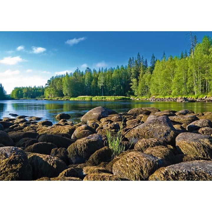 River Chirka-Kem, Karelia, Russia