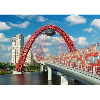 Zhivoposny Bridge, Moscow