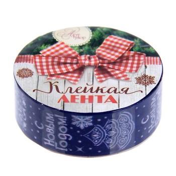 "Tape ""Christmas trees"" (width 1.5 сm)"