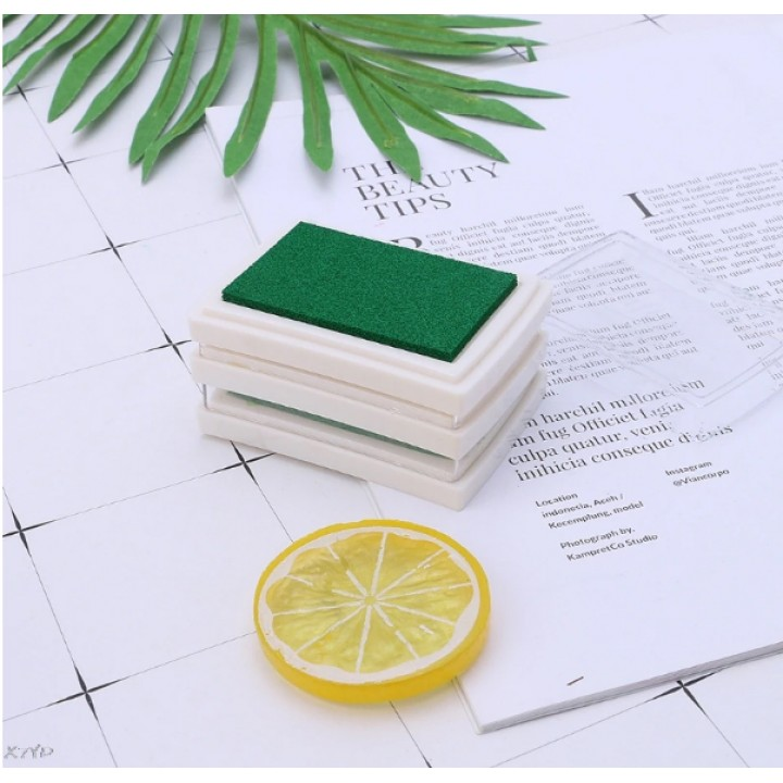"Stamp pad ""Green"""