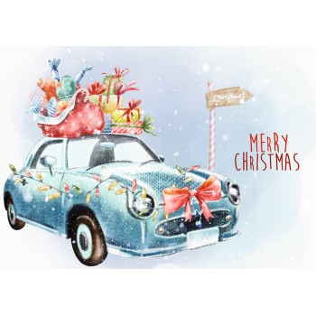 Merry Christmas. Car
