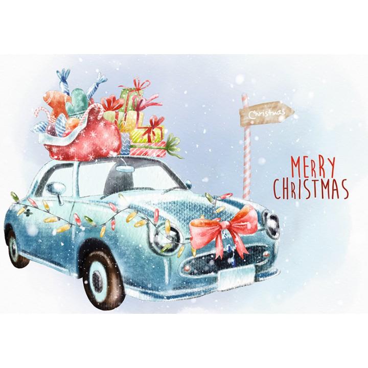 Merry Christmas. Car