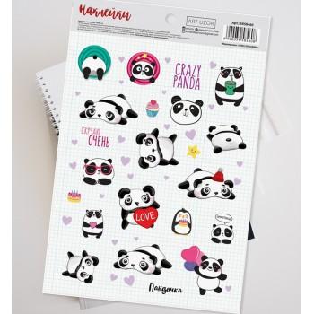"""Stickers """"Panda"""" (14 × 21 cm)"""