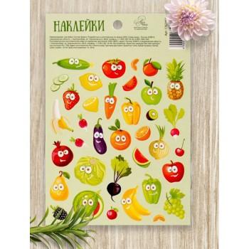 "Stickers ""Happy vitamins"" (11 × 16 cm)"