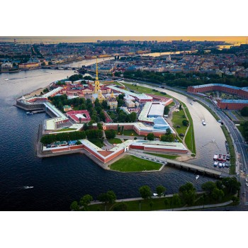 View of the Peter and Paul Fortress, Saint Petersburg