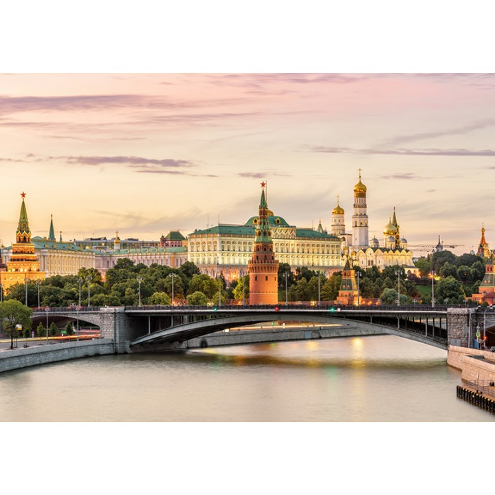 Evening time. Moscow