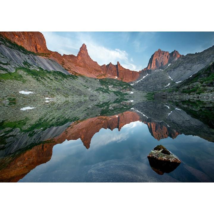 Lake in Ergaki Nature Park
