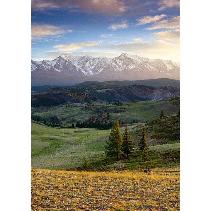 Landscapes of Altai Krai