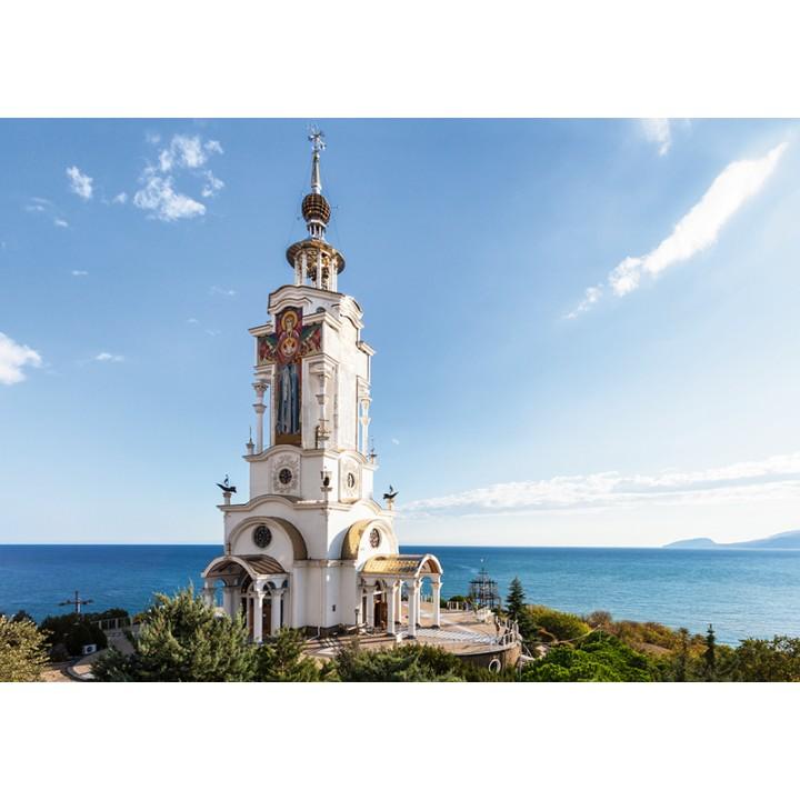 Church-lighthouse of St.Nicholas, Crimea