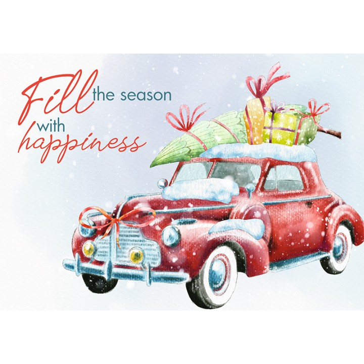 Fill the season with happiness