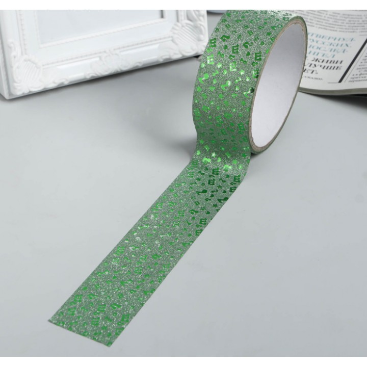 "Wide gift tape ""Melody"" (3,6 сm*5 m)"
