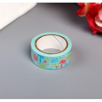 """Paper tape """"Seaside vacation"""" (width 1.5 сm)"""
