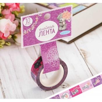 "Tape ""Lavender joy"" (width 1.5 сm)"