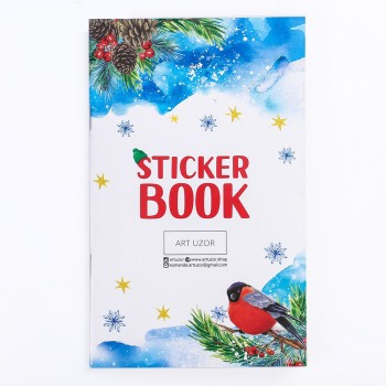 "Album with stickers ""Winter fairytale"" (11 х 18 сm)"