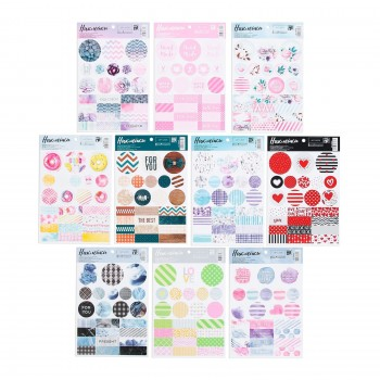 "Set of stickers ""Patterns"" (14 х 21 сm)"