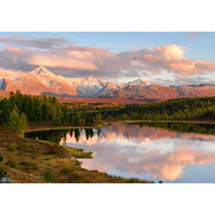 Sunset in Altai