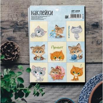 "Stickers ""Kittens"" (11 × 16 cm)"