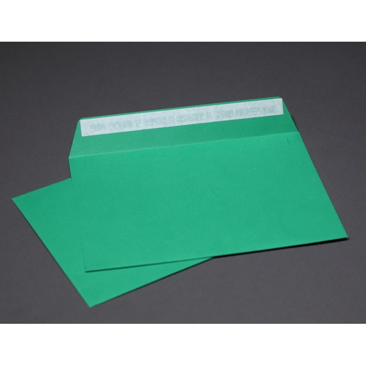 Green envelopes А6 (114*162 mm). 4 pieces