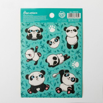 "Stickers ""Pandas"" (11 × 16 cm)"