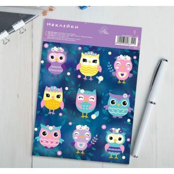 "Stickers ""Owlets"" (11 × 16 cm)"