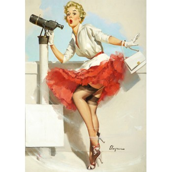 Pin Up. Wind