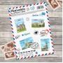 """Stickers """"Crimea"""" (11 × 15 cm)"""